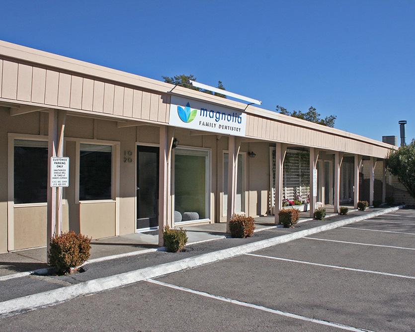Dental office exterior front
